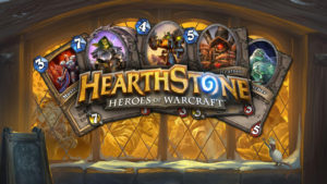 Hearthstone title screen